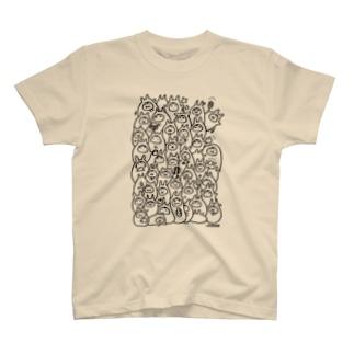 食べるやるきないもの T-shirts
