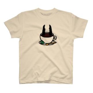 クワガタコーヒー T-shirts