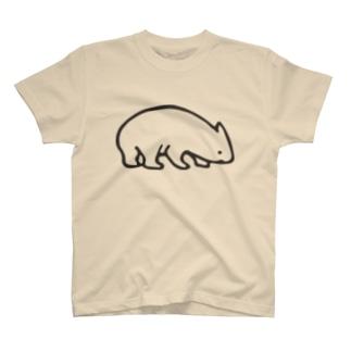 WOMBAT kun T-shirts