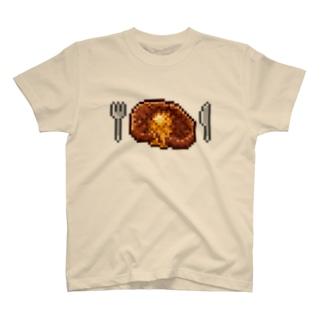 ドット絵ヤキニク T-shirts