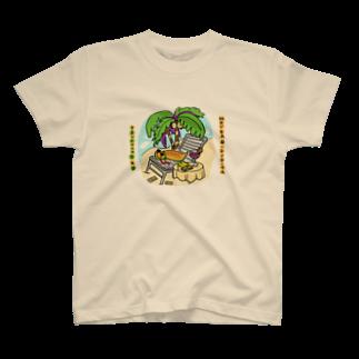 鈴木お肉マートの儲かりすぎたつちのこ カラー T-shirts