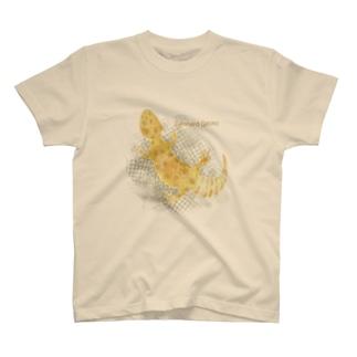 レオパードゲッコー T-shirts