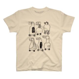 歌ってドライブ Tシャツ