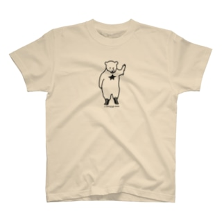 A WRESTLER BEAR mono T-shirts