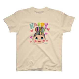 HAPPYおだんごちゃん。 T-shirts