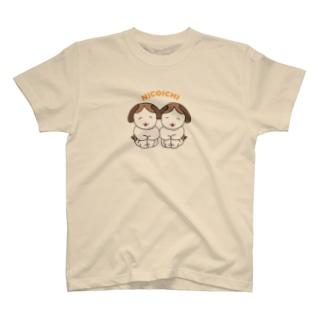 ニコイチわんこ T-shirts