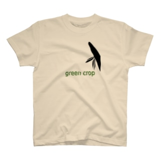 green crop T-shirts