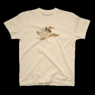 どろーいんぐ屋の蜜蜂 T-shirts
