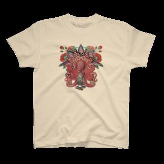 meemのたこ信仰 T-shirts