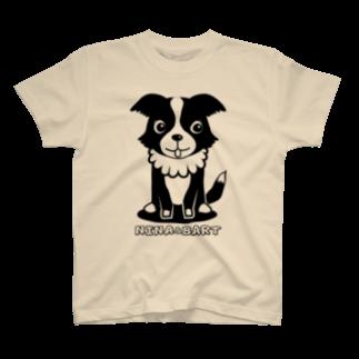 nowhitonの【nina&bart】ニナ T-shirts