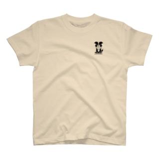 【nina&bart】ニナ(ワンポイント) T-shirts