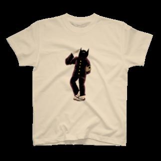 墓生まれのKの地球星怪人 猫沢 T-shirts