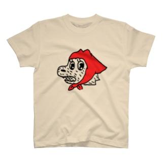 魚の水割りの赤ずきん T-shirts