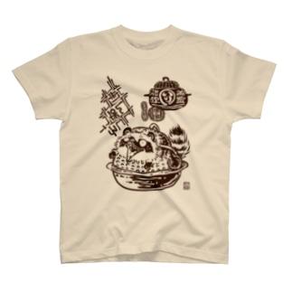 茶釜の化狸 T-shirts