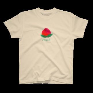 caca 🦜🥭の9月のPeach T-shirts