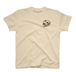 三十日の化け猫(黒) T-shirts