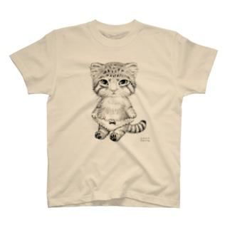 マヌルねこぱんつ T-shirts