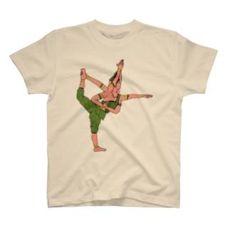 阿修羅YOGA T-shirts