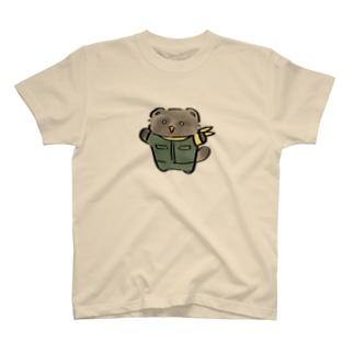 しょーもな調査隊のたぬき T-shirts