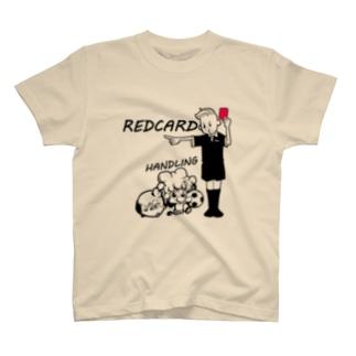 レッドカードさん T-shirts