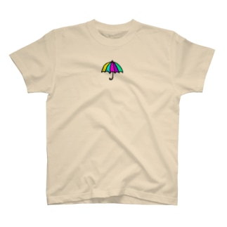 レインボーアンブレラ T-shirts