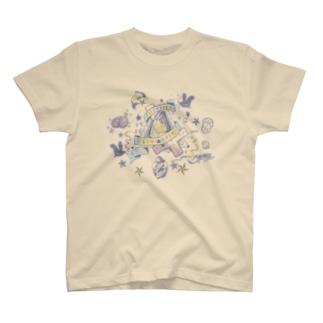 S▲B▲tO(15SS/u-lavender) T-shirts