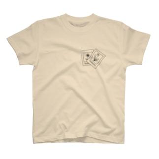 fugacious flowers. T-shirts