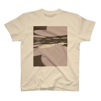 ジワる3度見シャツ T-shirts