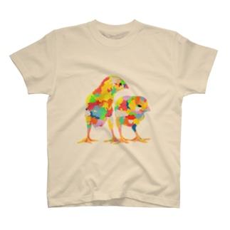 思考するひよこ T-shirts