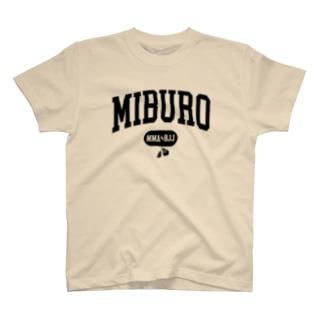 カレッジ2 ブラックロゴ T-shirts