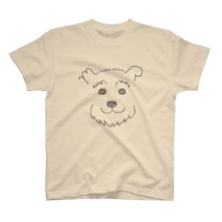 手書きシュナ T-shirts
