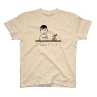 コーヒー男子 T-shirts