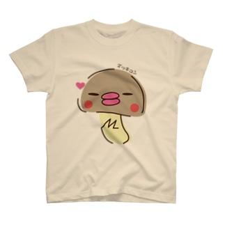 ズッキュンまつたけさん T-shirts