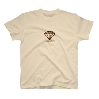 キラキラダイヤモンドシリーズ D T-shirts