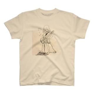 シューゲイザー女子 T-shirts