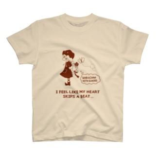 眼鏡のかぼちゃん(待ち合わせ:茶) T-shirts