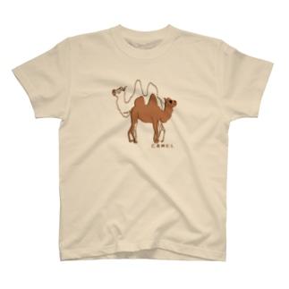 ららららラクダよ T-shirts