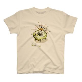 羊と太陽 T-shirts