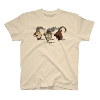 Wild goat in the world T-shirts