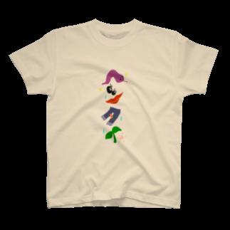 せみ/세미@白紙は奴隷⛄️のへんたい T-shirts