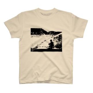 釣りTシャツ(写真2) T-shirts
