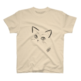 にゃあん(猫目) T-shirts
