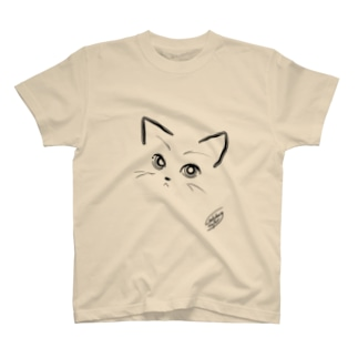 にゃあん(タペタム) T-shirts