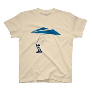 紙飛行機の術 T-shirts