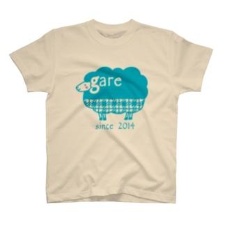 ガレリー 水色 T-shirts