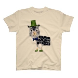 クロヒョウさん T-shirts