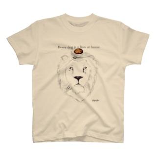 caffe Zoo Lion T-shirts