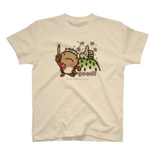 邑南町ゆるキャラ:オオナン・ショウ『Silver-good!』 T-shirts