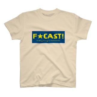 F☆CAST  オリジナル T-shirts