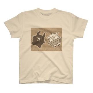 ネガティぶー&ポジティぶっぶ Part 2 T-shirts